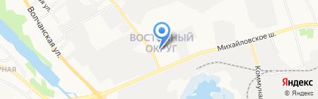 Аланта-Фемида на карте Белгорода