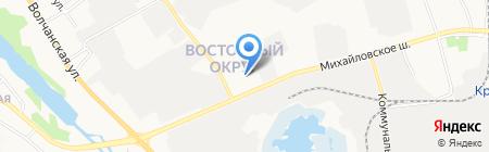 Оптойл на карте Белгорода