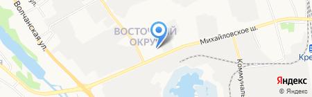 Интердеталь на карте Белгорода