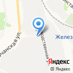 Лада-С на карте Белгорода