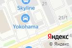 Схема проезда до компании Интердеталь в Белгороде