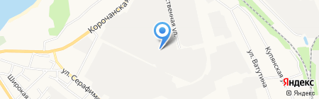 Форма на карте Белгорода