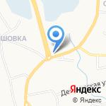 Потолков на карте Белгорода