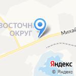 Военная комендатура Белгородского гарнизона на карте Белгорода