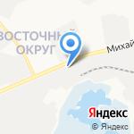 Саша на карте Белгорода