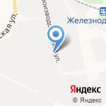 Белая птица на карте Белгорода