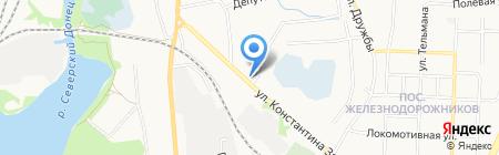 Минимаркет на карте Белгорода
