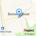 Почтовое отделение на карте Белгорода