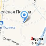 Полянка на карте Белгорода