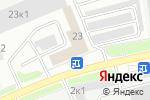 Схема проезда до компании КИТ в Белгороде
