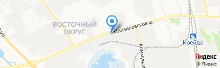 Арсенал на карте Белгорода