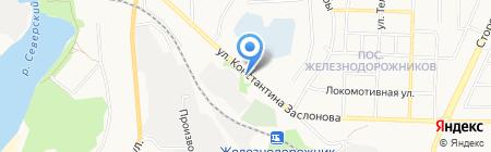 АГЗС на карте Белгорода