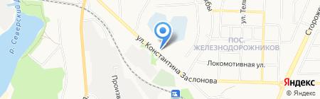 СТРОЙБЫТ на карте Белгорода