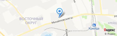 М5 на карте Белгорода
