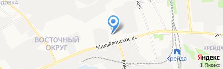 Daewoo на карте Белгорода