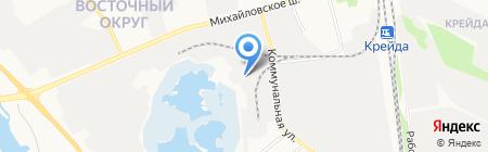 Белтехзапчасть на карте Белгорода