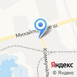 Арсенал-Разноторг на карте Белгорода