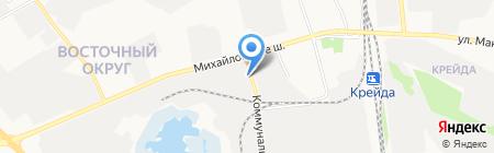 ПроектНаладка на карте Белгорода