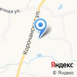Средняя общеобразовательная школа №24 на карте Белгорода