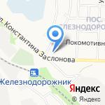 Европроект-Белгород на карте Белгорода
