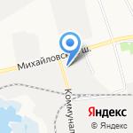 Белгородский консервный комбинат на карте Белгорода