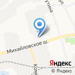Моечка на карте Белгорода