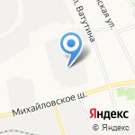 Мега тойс на карте Белгорода