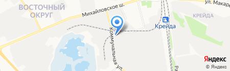Ливам на карте Белгорода
