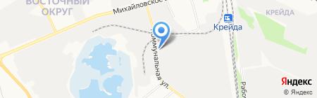 Завод художественной ковки на карте Белгорода