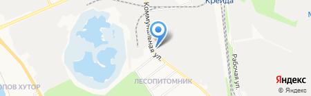 Завод ЖБК-1 на карте Белгорода
