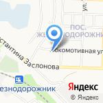 Детский сад №4 на карте Белгорода