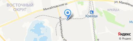 Восток-Сервис-Черноземье на карте Белгорода