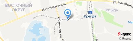 Строительная компания ЖБК-1 на карте Белгорода