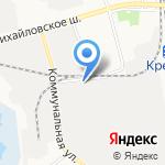 Управление механизации ЖБК-1 на карте Белгорода