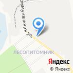 Саванна на карте Белгорода