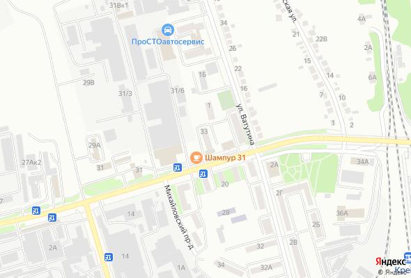 жилой комплекс Михайловское шоссе 33
