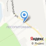 Емельянов М.Д. на карте Белгорода