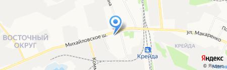 Анис на карте Белгорода