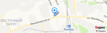 Трофей на карте Белгорода