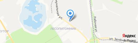 Строительно-монтажное управление ЖБК-1 на карте Белгорода