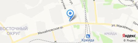 Городская детская поликлиника №2 на карте Белгорода