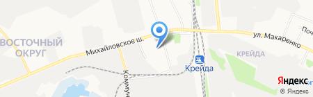 Детский сад №23 на карте Белгорода