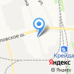 Гастроном на карте Белгорода