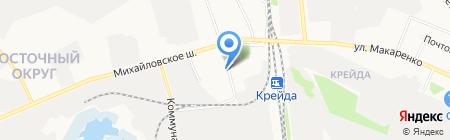 САВД на карте Белгорода