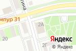 Схема проезда до компании Центр досуга в Белгороде