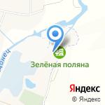Зелёная Поляна на карте Белгорода