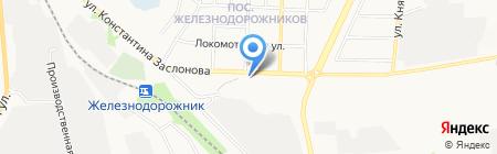 СТО на карте Белгорода
