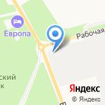 Едаки на карте Белгорода