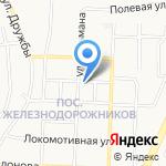 Библиотека №12 на карте Белгорода