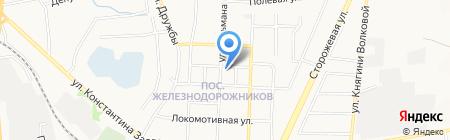 Почтовое отделение №17 на карте Белгорода